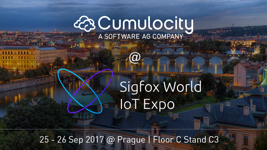 Cumulocity @ Sigfox World IoT Expo, Prague