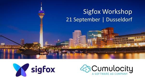 Cumulocity @ Sigfox Workshop, Düsseldorf